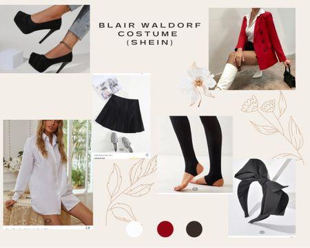 HALLOWEEN COSTUME IDEA!!!☠️  ✨Gossip Girl - BLAIR WALDORF✨  Blair Waldorf vibe, nyc style, Halloween costume idea, costume ideas, fall ootd, fall vibes     #LTKHoliday #LTKstyletip #LTKSeasonal