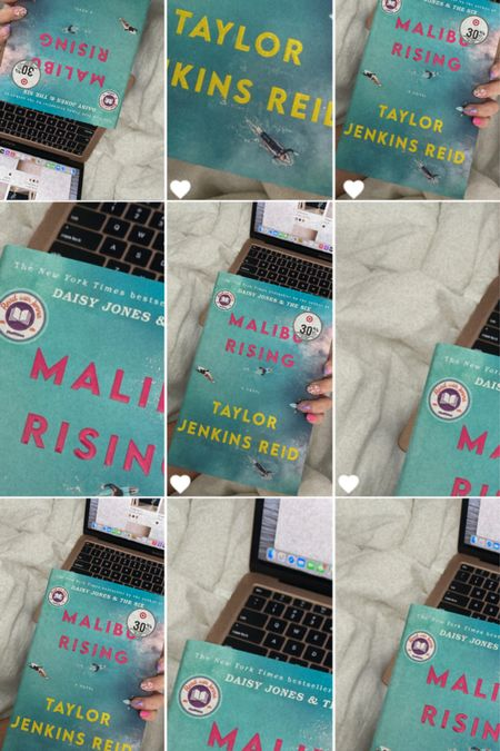 Malibu Rising On sale for $16.80 Hardcover fiction book  #LTKunder50 #LTKhome #LTKsalealert