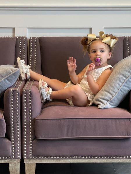 Toddler girl shoes, Sophia Gemma, tweed Chanel dupe shoes for little girls, Emily Ann Gemma   #LTKkids