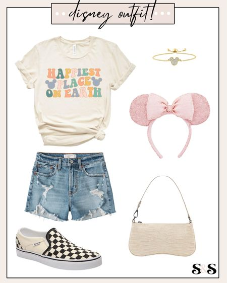 Disney outfit idea! Loving this top, such a pretty color combo😍  #LTKshoecrush #LTKunder50 #LTKunder100