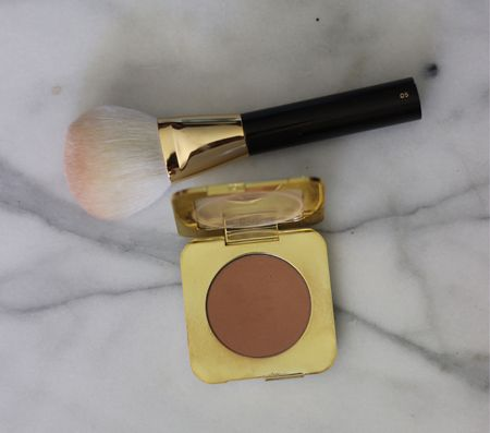 Best bronzer and bronzer brush for sensitive skin!! I have rosacea and acne and this wonderful bronzer doesn't irritate my skin. It's the best! ❤️  #LTKstyletip #LTKbeauty