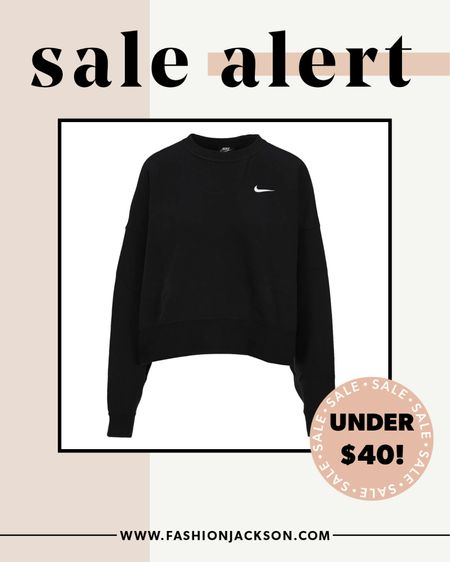 It may have sold out during the #nsale but I found it in stock and on BIGGER sale! Grab it quick for under $40. #athleisure #nike #sale #fashionjackson #liketkit  #LTKsalealert #LTKunder50 #LTKfit
