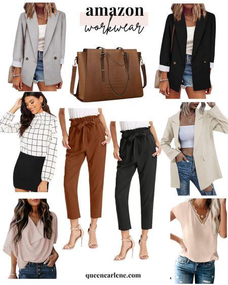 Amazon finds, Amazon closet, fall fashion, Amazon fashion, Amazon wardrobe essentials, clothing essentials, Amazon must haves, sweater weather, fall looks, simple fall style, workwear  #LTKstyletip #LTKunder50 #LTKworkwear