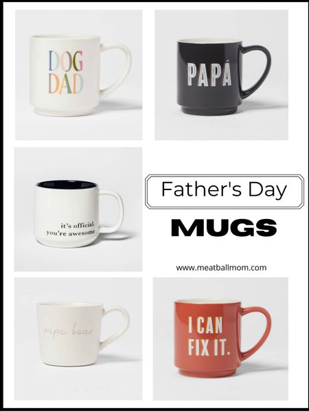 Father's day mugs           Father's Day, fathers  day gift idea, Father's Day mug, gifts for him, gifts for men, gifts for dad , mugs, target style, target finds  #LTKmens #LTKhome #LTKunder50