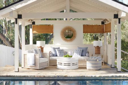 Up to 25% off for this coastal outdoor living room by Serena & Lily.   #LTKsalealert #LTKHoliday #LTKhome