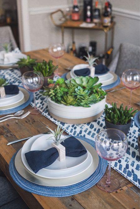 Home decor summer tablescap  #LTKhome #LTKunder50 #LTKunder100