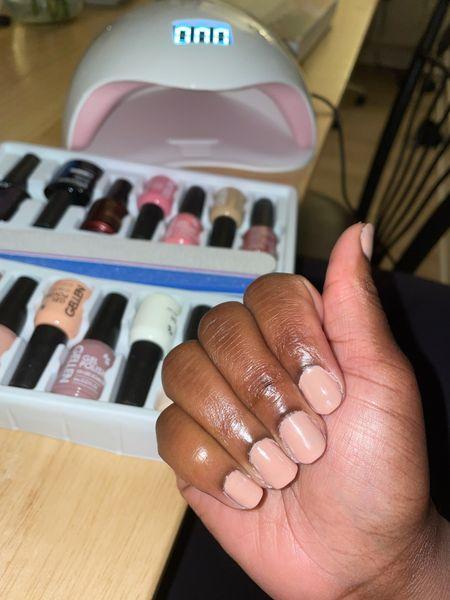 Gel nail kit at home  #LTKHoliday #LTKunder50 #LTKGiftGuide