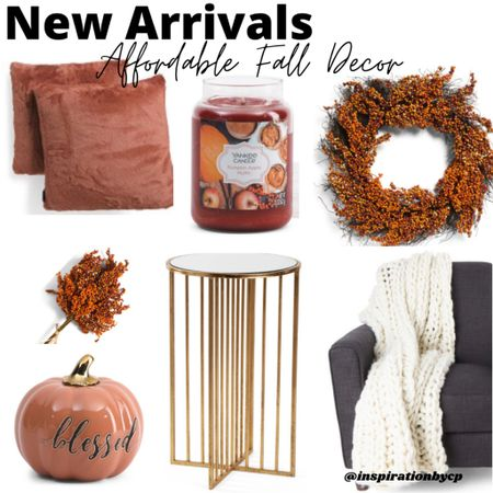 Pumpkin spice and everything nice! Decorate with this rich burnt orange for this fall.  ✨Fall decor, home decor, pumpkin decor, fall garland.  #LTKstyletip #LTKhome #LTKsalealert