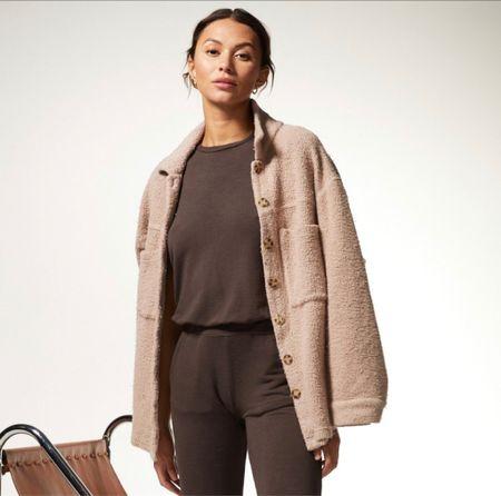 Cozy Shacket - Shirt Jacket - Fall Trends - Fall outfits - Loungewear   #LTKcurves #LTKSeasonal #LTKstyletip