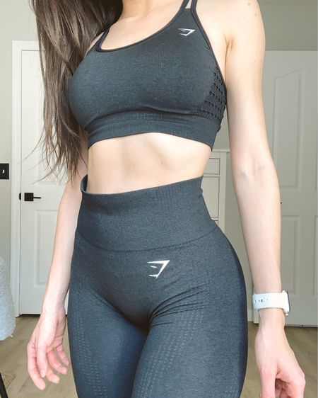 🌚 One of my favorite sets! So comfortable and the leggings fit like a glove. The sports bra is medium support and holds everything in.  http://liketk.it/38eLc #liketkit @liketoknow.it   #LTKfit #LTKcurves #StayHomeWithLTK