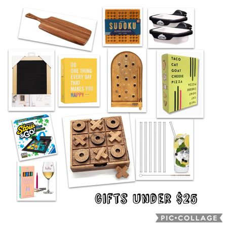 I'm always looking for unique gift ideas for people like my neighbors, hostesses, classroom helpers and other families I love without breaking the Christmas budget. So many great ideas here, games, journals, drink accessories and other fun things anyone would love! These are all under $25 and many are much less than that!   http://liketk.it/322x5 #liketkit @liketoknow.it Screenshot this pic to get shoppable product details with the LIKEtoKNOW.it shopping app. Links are also available in my profile.