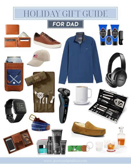Holiday gift guide for dad is live on the blog! Find the perfect gift for your dad, stepdad, grandpa, husband, or any other father figure in your life! ✨  #LTKmens #LTKsalealert #LTKgiftspo