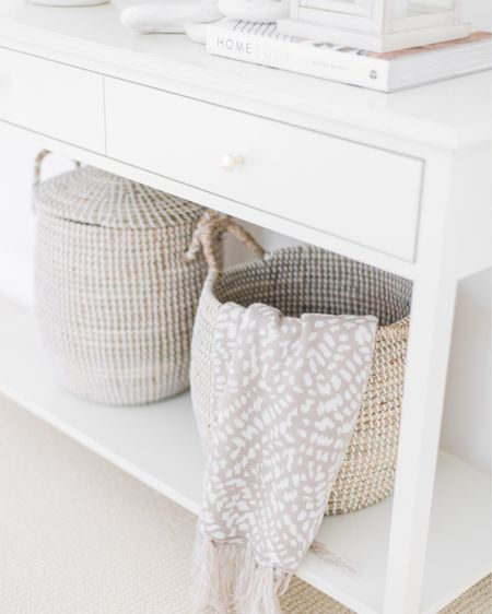 Hello Tuesday that feels like a Monday! Baskets are a win win don't ya think? They sure look pretty and they're good for storing all the things 🙌 What's your favourite thing to store in baskets? I know all you Mamas with littles could think of a few 🤍  Linking my fave seagrass baskets on LIKEtoKNOW.it 👉 Follow me on the app to shop all my faves!  Photo: @fridayevephoto . . .  http://liketk.it/3g2Ky #liketkit @liketoknow.it #LTKhome #LTKunder50 #LTKfamily