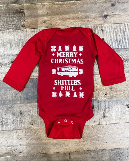 Merry Christmas onesie, newborn 6 month ugly vacation bodysuit, sweater toddler, funny photo outfit, newborn. gift for new mom, mom gifts http://liketk.it/30tfC #liketkit @liketoknow.it   #LTKbaby #LTKunder50 #LTKkids