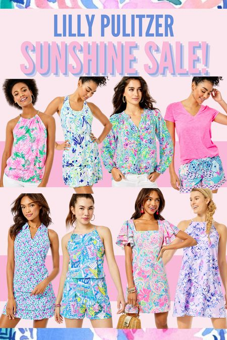 The Lilly Pulitzer sunshine sale has been restocked! So many beautiful dresses, skirts, tops, prints… everything! #lillypulitzer #sale #sunshinesale  #LTKsalealert #LTKSale #LTKunder100