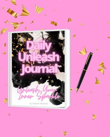 """STARTING THE MONTH OFF RIGHT: Unleash Journals are on sale now on Amazon! Have you started Unleash Journaling for February yet? If so, share your UNLEASH Goal (or any other goals you have for this month)! We wanna hear em' all😊 """"Unleash Your Inner Sparkle"""" Unleash Journal link in bio 💕👆🏼👆🏼👆🏼🎚 💞#UnleashJournal ⭐️⭐️⭐️⭐️ #liketkit ⭐️ @liketoknow.it ⭐️ http://liketk.it/3arlD #LTKhome #LTKfit #LTKfamily @liketoknow.it.home Shop my daily looks by following me on the LIKEtoKNOW.it shopping app  . . .  #beyourownboss #goal crusher #inspiration4you #inspirationaladvice #goalsetting2021 #goalsettinggoalgetting #goalsettingtips #time management tips #positivitybreedspositivity #positivitybreedssuccess #positivityisthekey #positivityispower #positivitymatters #bossbabe #entrepreneuriallife #entrepreneurialmindset #HEATHERNEWMANFITNESS #GLITTERU #TONEN10 #SUGARDETOX7 #GETUNSTUCK #JOURNALNERD  #unleashjournal Heather Newman"""