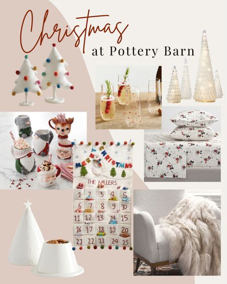 Christmas favorites from Pottery Barn!   #LTKHoliday #LTKSeasonal #LTKhome
