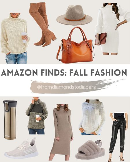Amazon Finds. Love these fall fashion items!  Sweater dresses are so on trend right now and there are lots of great ones!   http://liketk.it/2ZHiM #liketkit @liketoknow.it #LTKunder100 #LTKshoecrush #LTKstyletip