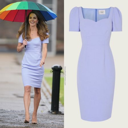 Kate wearing LK Bennett Dee dress http://liketk.it/3hSBT #liketkit @liketoknow.it #ootd #bodycon #wedding #summer
