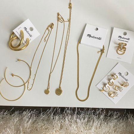 Madewell jewelry http://liketk.it/3hpRx #liketkit @liketoknow.it #LTKunder50 #LTKsalealert #LTKunder100