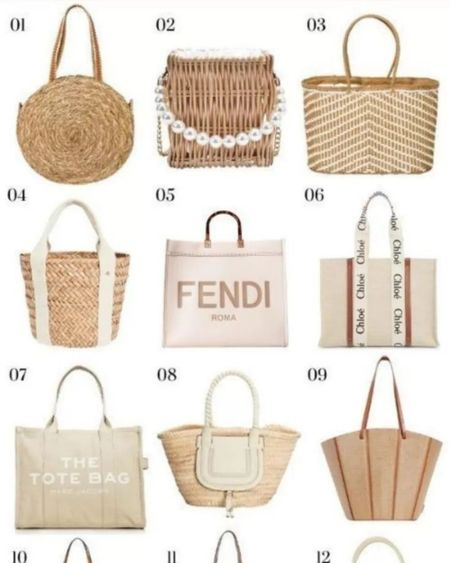 The best beach bags for summer, including bags under 25, bags under 50, designer handbags, straw bags, bamboo bags, tote bags and more. @liketoknow.it  http://liketk.it/3guyn #LTKitbag #LTKstyletip #liketkit