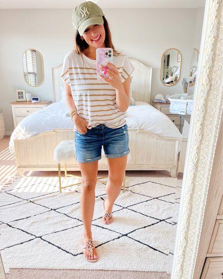 • medium tee • shorts true to size   http://liketk.it/3hVQq #liketkit @liketoknow.it