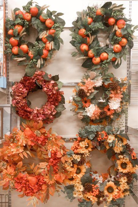 Fall wreaths are here!   #LTKSeasonal #LTKhome #LTKstyletip