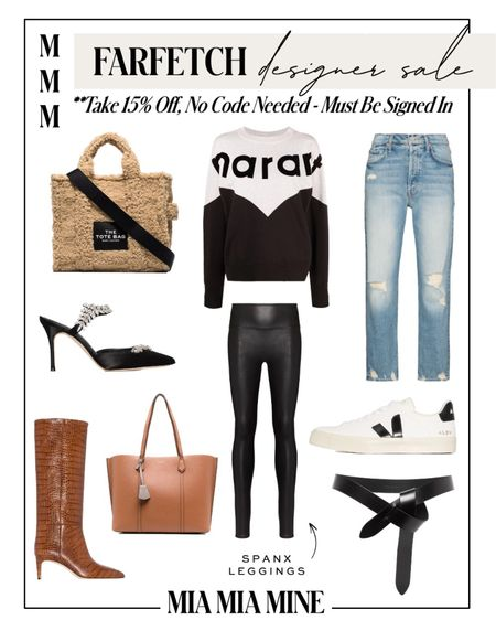 Farfetch designer sale - take 15% off, no code needed but must be signed into account  Veja sneakers on sale Marc jacobs shearling tote on sale Isabel marant sweater  Follow my shop @miamiamine on the @shop.LTK app to shop this post and get my exclusive app-only content!  #liketkit #LTKsalealert #LTKSeasonal #LTKstyletip @shop.ltk http://liketk.it/3qagU  #LTKsalealert #LTKshoecrush #LTKstyletip