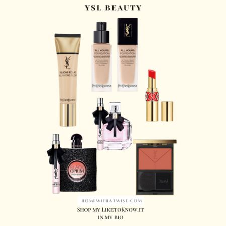 YSL Beauty on sale this weekend for LTK Day! This would be an awesome chance to splurge on some new lipstick or foundation for yourself. Treat yourself! http://liketk.it/3hjCc #liketkit @liketoknow.it #LTKDay #LTKbeauty #LTKunder100