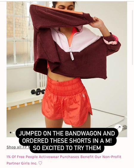Free people shorts. the way home shorts. Activewear. Workout shorts. @liketoknow.it http://liketk.it/3j01K #liketkit #LTKfit #LTKunder50 #LTKstyletip