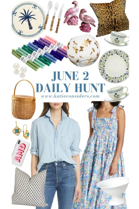 A small selection of the June 2 Daily Hunt! Shop all the finds at KatieConsiders.com @liketoknow.it #liketkit http://liketk.it/3h8Ov