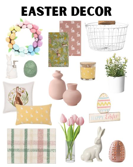 Target style, Easter decor, target home, home decor, Easter, Easter basket, spring decor. #LTKhome #LTKSeasonal #LTKfamily #liketkit @liketoknow.it http://liketk.it/38PSg