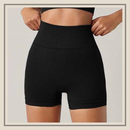 High waist seamless sports shorts  #LTKunder50 #LTKfit #LTKstyletip