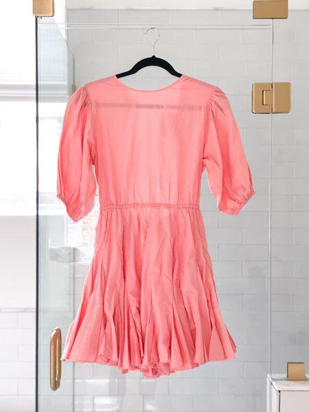 The back of this dress 🧡🤍 #ootd #fashion #summer #orange #rhode #saks #openback #summerdress #athome #bathroom #bathroomremodel   #LTKwedding  #LTKsalealert #LTKhome