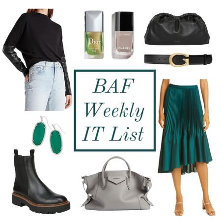What's trending this week on the blog 💃🏻 or shop what's hot here in the app ❤️ fall nail polish 🍁 lug sole boots or combat boots 🍁 pouch clutch 🍁 fall outfits 🍁  #LTKunder50 #LTKshoecrush #LTKbeauty