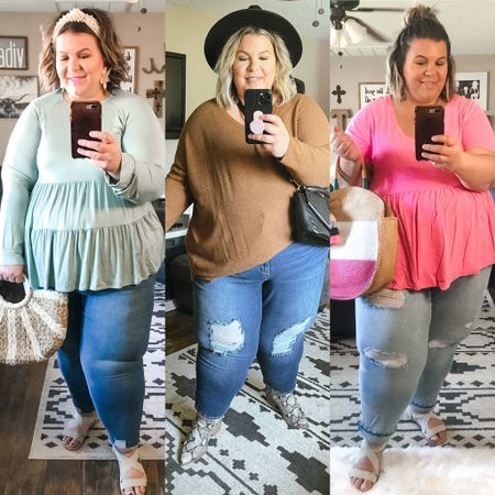 My top pick for plus size jeans is absolutely Sofia Vergara from Walmart Fashion! Most of their plus size denim is under $30 and goes up to a 28W. I find the fit to be true to size and so comfortable!   #LTKstyletip #LTKunder50 #LTKcurves
