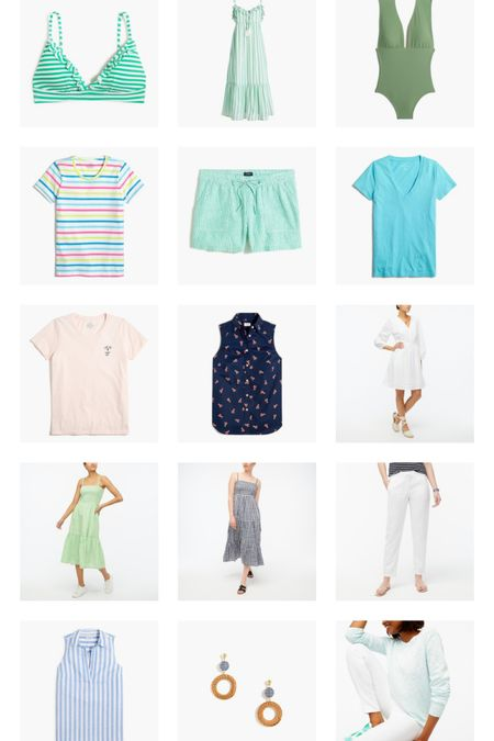 Jcrew Factory Summer Arrivals / Summer dresses / smocked maxi dress http://liketk.it/3fDCK #liketkit @liketoknow.it #LTKunder100 #LTKunder50