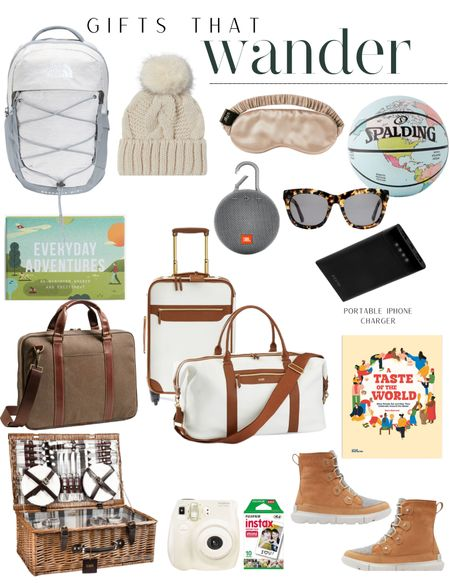 Gifts that wander, gifts for the traveler, gifts for adventure, gifts for him, gifts for her and more (holiday gift guide) 🎄    #LTKHoliday #LTKtravel #LTKGiftGuide