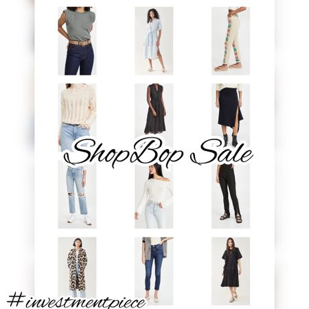 Perfect for fall coats, jeans, tops, and dresses - all up to 60% off! The latest markdowns @shopbop #investmentpiece   #LTKSeasonal #LTKsalealert #LTKstyletip