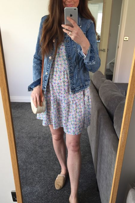 Spring outfit, spring trends, spring 2021, spring dresses, floral dresses, Asos, Asos dresses, Asos sale, yellow, yellow jumper, knitwear, spring knitwear, spring transition outfit, denim jacket outfit, H&M, H&M jumper, H&M jeans, knitwear outfit, joggers outfit, lilac outfit, lilac joggers, Lee jeans, Lee H&M spring trends 2021 http://liketk.it/3cdx5 #liketkit @liketoknow.it @liketoknow.it.europe #LTKSpringSale #LTKeurope #LTKunder50
