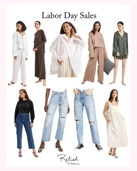 Labor Day Sales - Deals on Women's Loungewear, Womens Jeans, Womens Dresses, Womens Fall Outfit Inspiration, Fall Outfit Ideas, Fall Tops   #LTKsalealert #LTKSeasonal #LTKbacktoschool