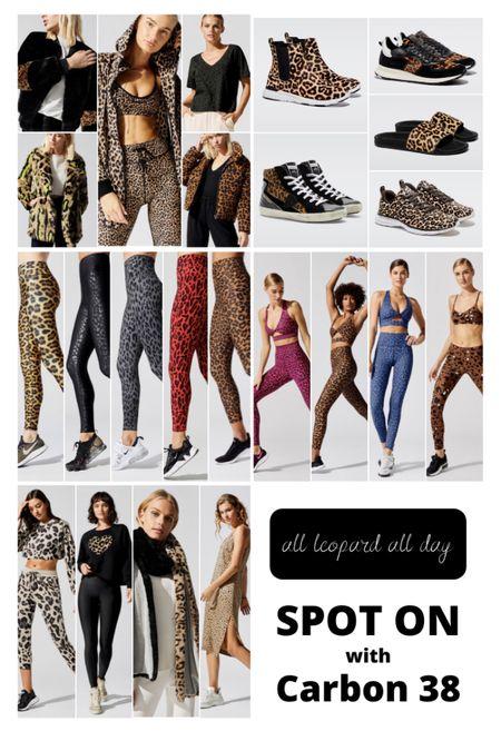 All leopard print all day 🐆 from Carbon 38 http://liketk.it/2J5ft #liketkit @liketoknow.it #LTKunder100 #LTKsalealert #LTKfit