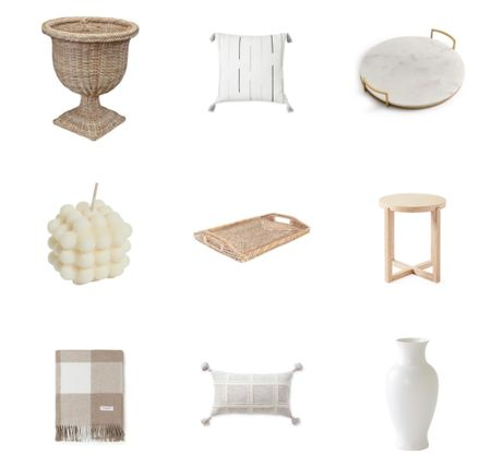 Neutral home decor finds.   #LTKunder50 #LTKstyletip #LTKhome