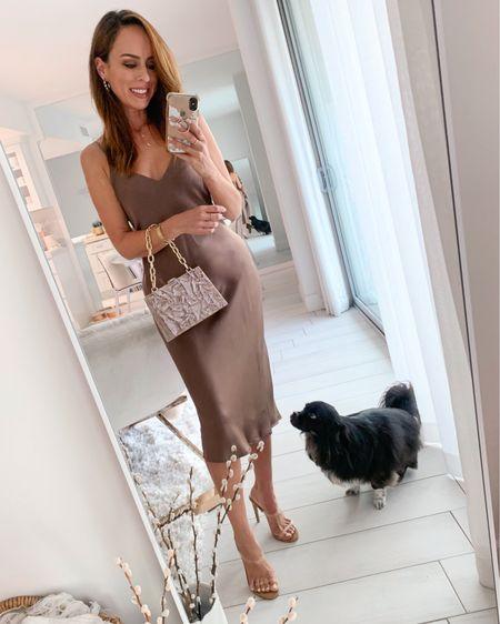 Date night in a slip dress 🤎  #LTKstyletip
