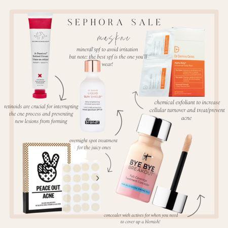 Maskne Sephora sale picks! http://liketk.it/3cMsl #liketkit @liketoknow.it #LTKbeauty #LTKsalealert