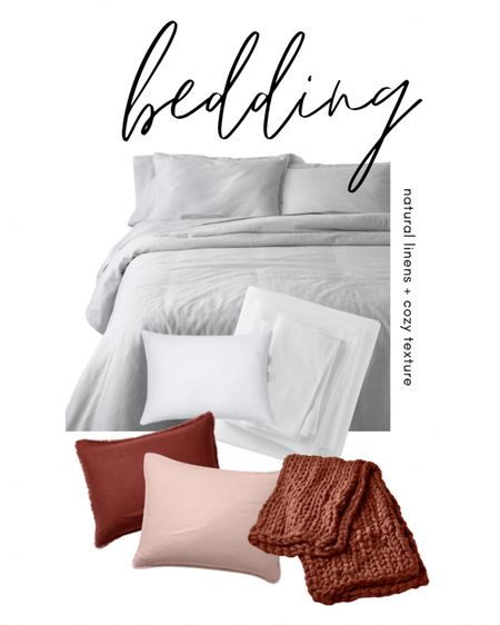 Affordable natural linen bedding and cozy textures that make your bedroom feel like a luxury hotel. I'm obsessed with everything in this collection! http://liketk.it/366Qe Download the LIKEtoKNOW.it shopping app to shop this pic via screenshot @liketoknow.it @liketoknow.it.home #liketkit #LTKhome #LTKsalealert