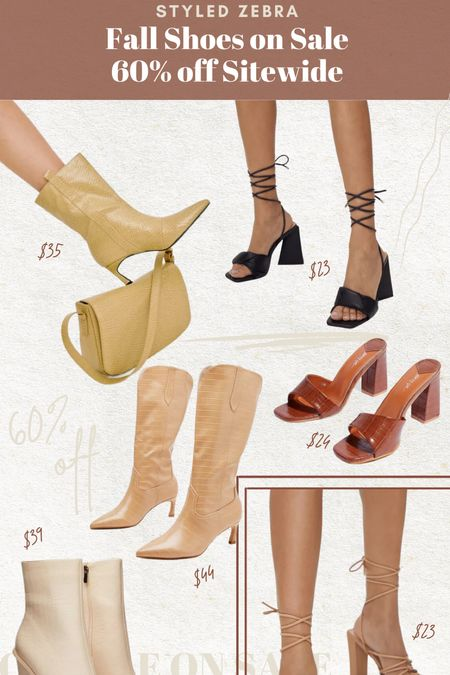 Fall Shoes on sale 60% off    #LTKunder50 #LTKsalealert