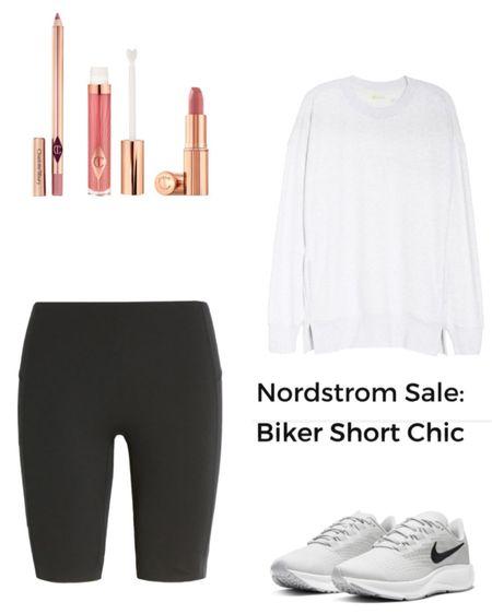 Nordstrom Sale!  Spanx active biker shorts are a must purchase from this sale!  http://liketk.it/2UvGB @liketoknow.it #liketkit #LTKfit #LTKsalealert #LTKunder100