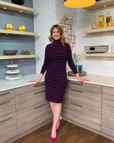 Don't forget to tune in to @cityline this morning. It's #MakeoverMadness and I headed to @joefresh for 3 head to toe great new looks. I even #FreeYourFresh with this dress that's under $25! http://liketk.it/2ASjP #liketkit @liketoknow.it #LTKsalealert #LTKspring #LTKstyletip #LTKunder50