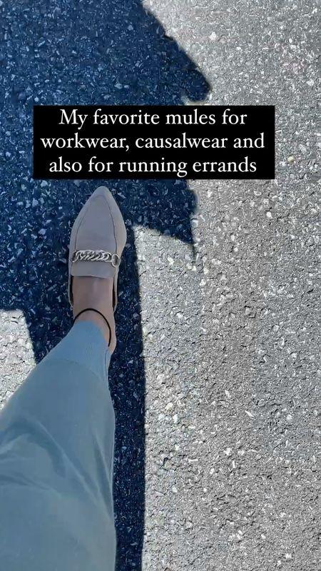 Favorite mules for work, pleasure and running errands. Steve Madden mules   #LTKworkwear #LTKstyletip #LTKshoecrush